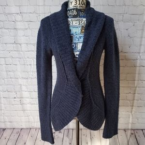 ARIZONA BLUE SOFT FITTED CARDIGAN!